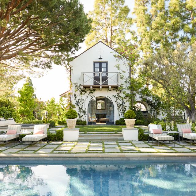 dunham backyard pool and garden