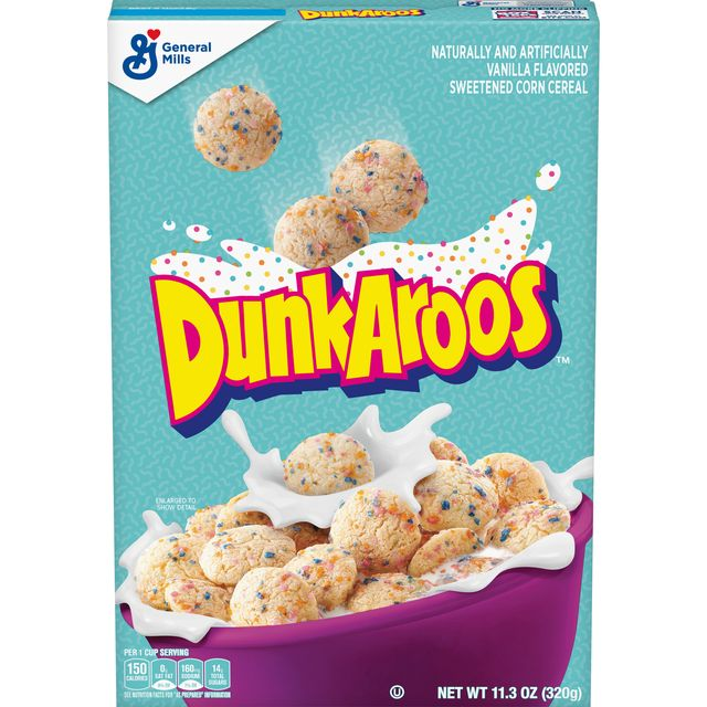 dunkaroos cereal is officially coming to stores
