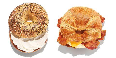 Food, Cuisine, Bagel, Dish, Baked goods, Ingredient, Simit, Bread, Cider doughnut, Doughnut,