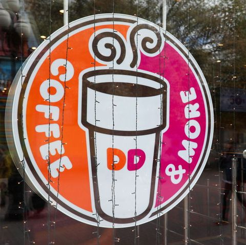 Dunkin' Donuts New Year's Day