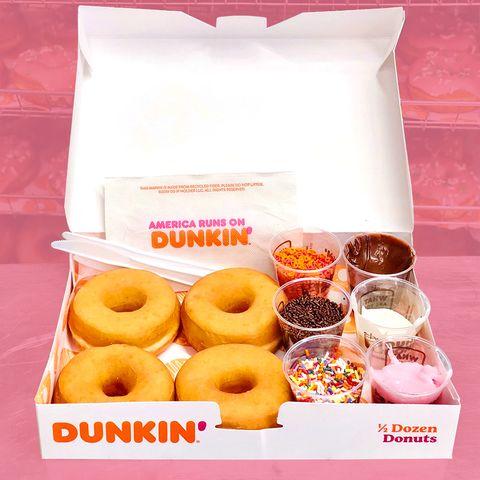 dunkin donuts diy kit