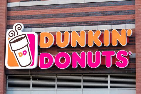 Dunkin' Donuts - Fast Food Open on Christmas Day