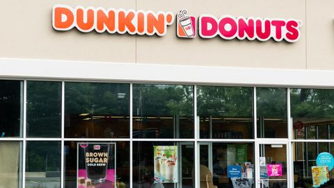 Dunkin' Donuts store in North Brunswick Township, New Jersey...