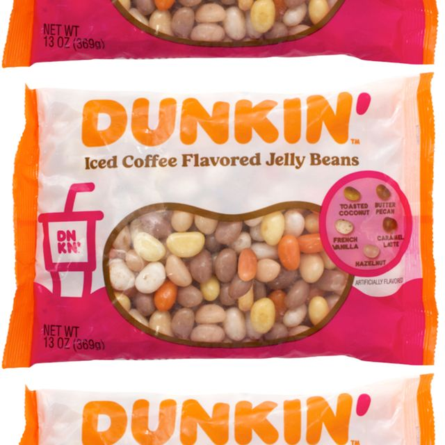 dunkin' frankford candy easter iced coffee flavored jelly beans