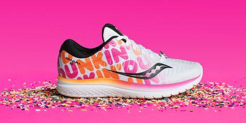 Footwear, Shoe, Pink, Outdoor shoe, Magenta, Walking shoe, Running shoe, Sneakers, Illustration, Athletic shoe,