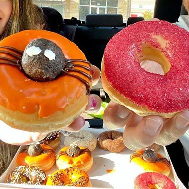 dunkin' halloween donuts