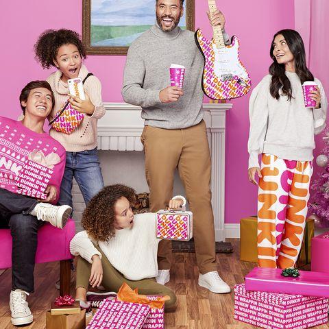 Pink, Magenta, Pajamas, Event, Leisure,