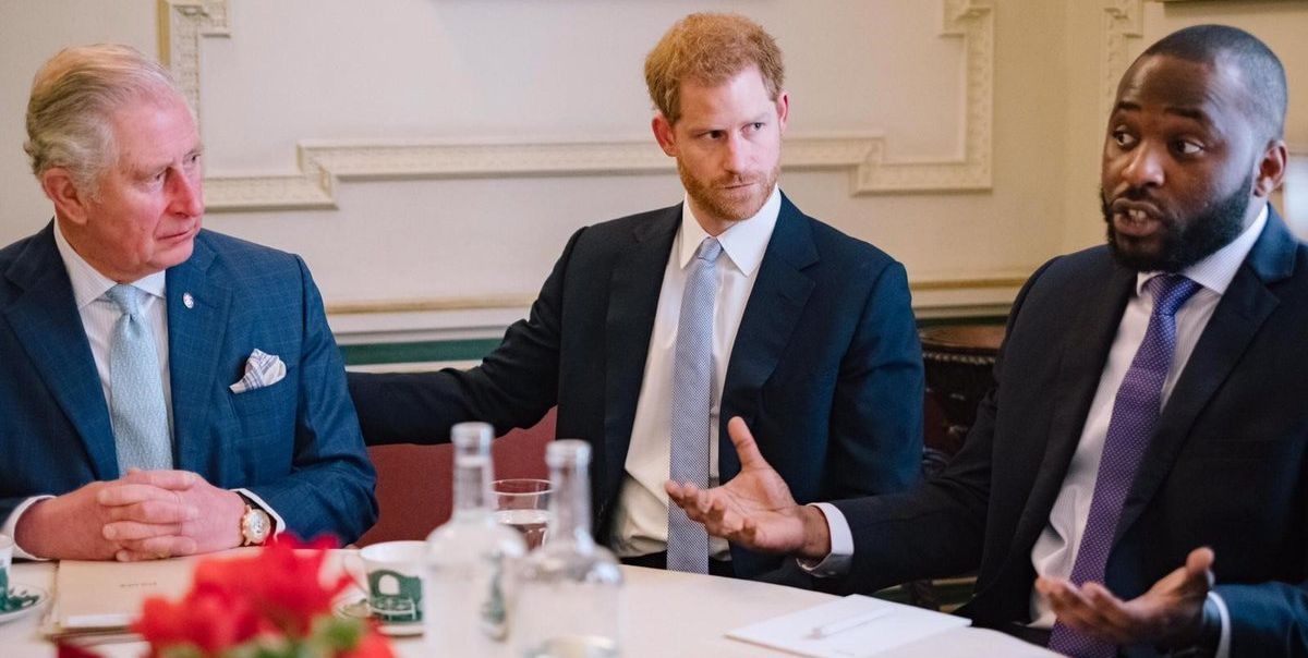Tom Hardy Joins Prince Charles and Prince Harry to Hear from Victims of Violent Crime