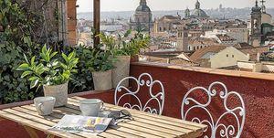 Ático dúplex en Madrid: Terraza