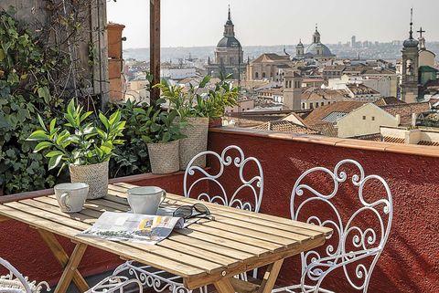 Ático dúplex en madrid terraza
