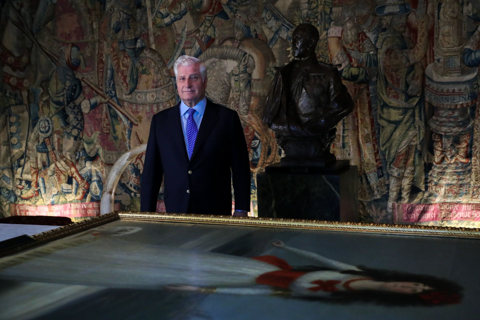 El duque de Alba explica su decisión de abrir el Palacio de Liria