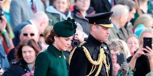 Kate Middleton, duques de Cambridge, príncipe Guillermo, Los duques de Cambridge celebran el Día de San Patricio,  Guillermo y Kate Middleton celebran San Patricio, Los duques de Cambridge asisten al desfile de la guardia irlandensa, El príncipe Guillermo y Kate Middleton celebran San Patricio