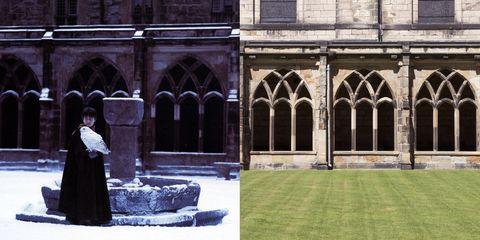 Architecture, Arch, Building, Column, Arcade, Abbey, Courtyard, Window, House, Monastery,