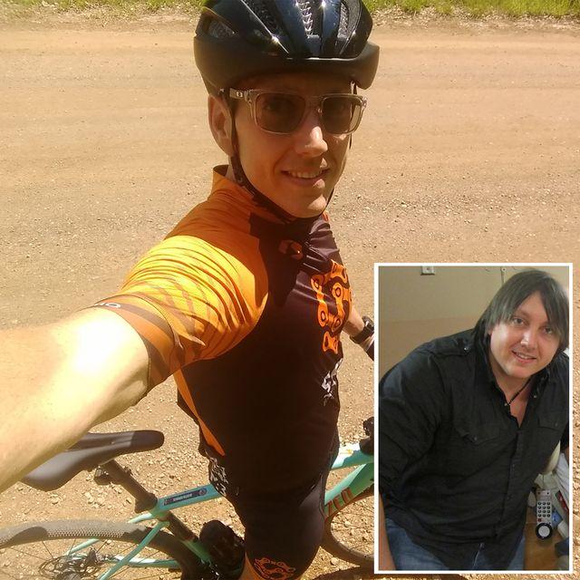 dustin derrick cycling weight loss