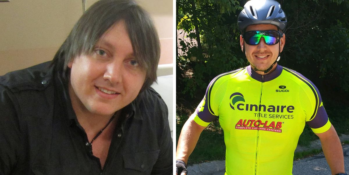 He Was Plagued By Running Injuries, So This Dad of 3 Picked up Cycling—and Lost 130 Pounds