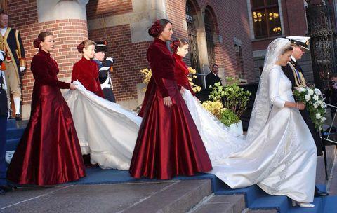 De Trouwjurk Van Maxima Alle Details Over Haar Bruidsjurk