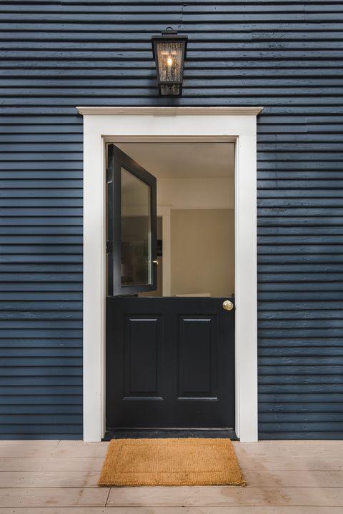 Dutch Door Leading To Clic Home