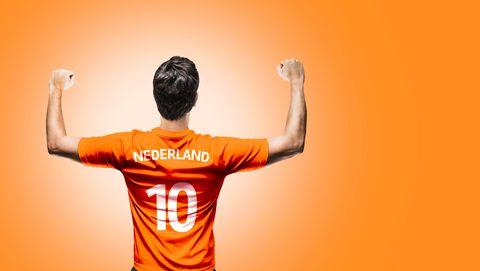 nederlandse voetbalfan