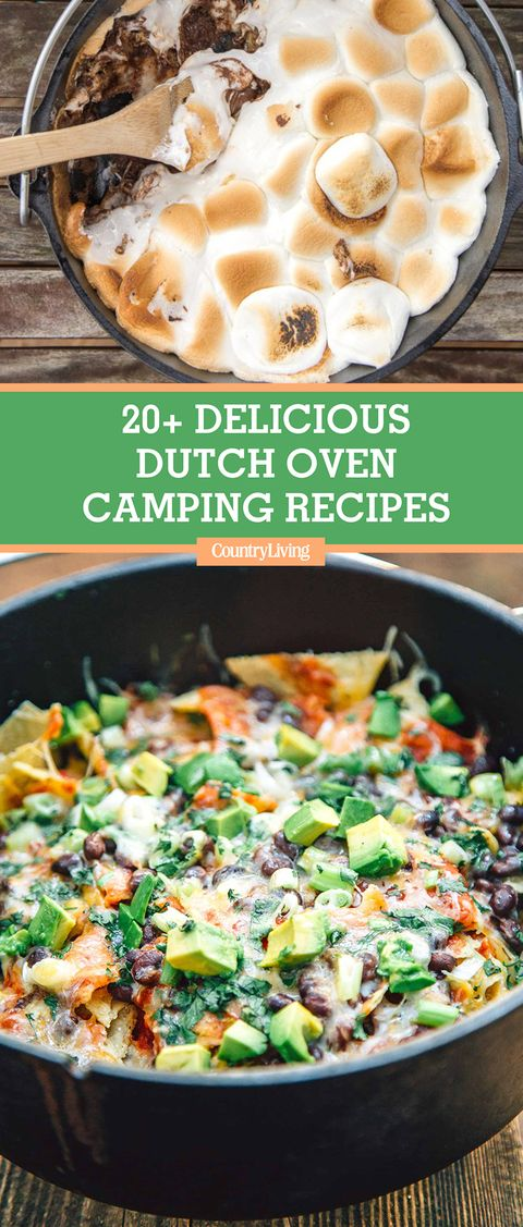16 Easy Dutch Oven Camping Recipes Campfire Cooking With A Cast