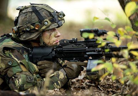 netherlands military training