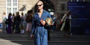 (Duurzame) jeans op straat in Parijs