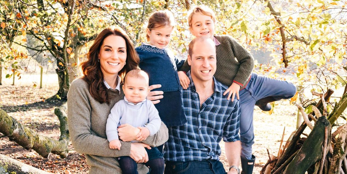 Prince George, Princess Charlotte, and Prince Louis Steal the Show in the Royal Family Christmas Card