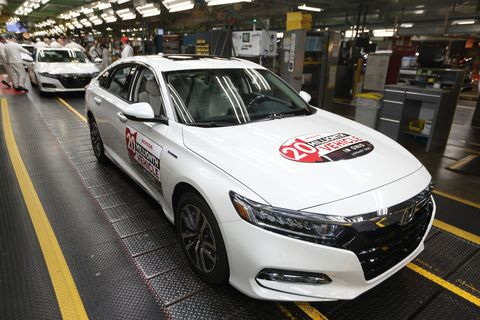 Honda Plant in Marysville, Ohio, January 2020