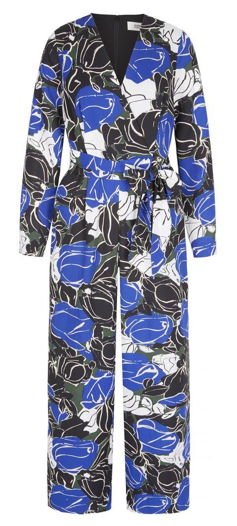 Clothing, Blue, Cobalt blue, Day dress, Sleeve, Robe, Dress, Electric blue, Pattern, Nightwear,