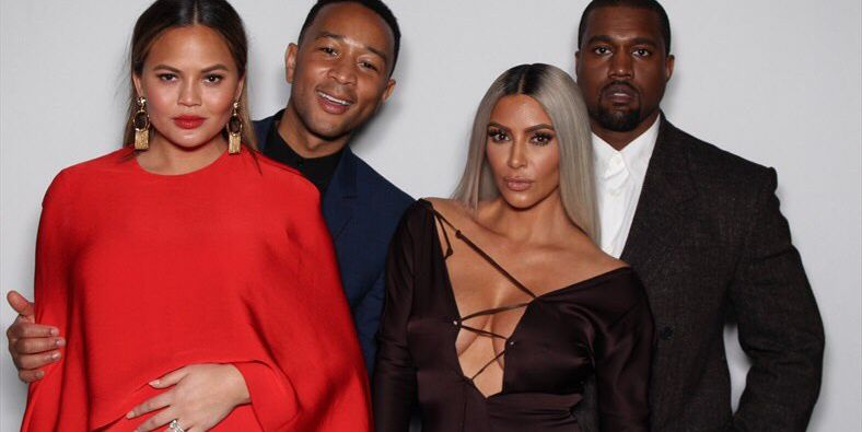 Kim, Kanye, Chrissy, John, and More Come Out to Celebrate Ellen DeGeneres