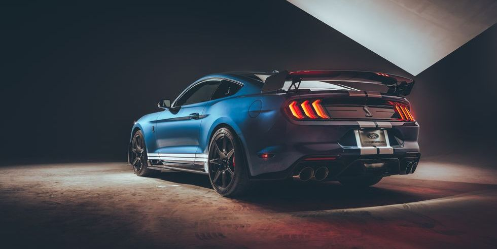 Listen To The 2020 Ford Mustang Shelby Gt500 S Four