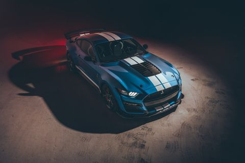 2020 Mustang Shelby GT500 Horsepower and Torque - 760 HP