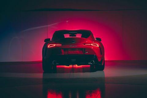Automotive design, Red, Vehicle, Car, Automotive lighting, Performance car, Supercar, Concept car, Sports car, Subcompact car,