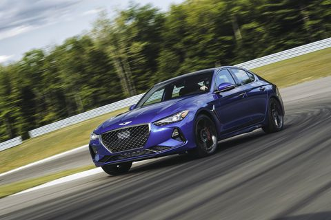 2019 Genesis G70: The Road & Track Test