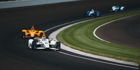 JR Hildebrand 101st Indianapolis 500