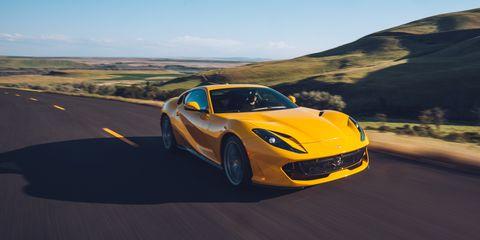 Land vehicle, Vehicle, Car, Sports car, Supercar, Automotive design, Performance car, Yellow, Landscape, Coupé,