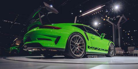 Land vehicle, Vehicle, Car, Automotive design, Auto show, Performance car, Sports car, Supercar, Rim, Porsche,