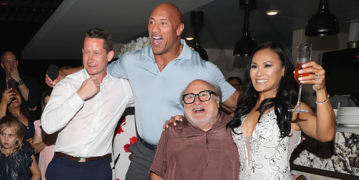 The Rock and Danny DeVito Are Our New Favorite Wedding Crashers