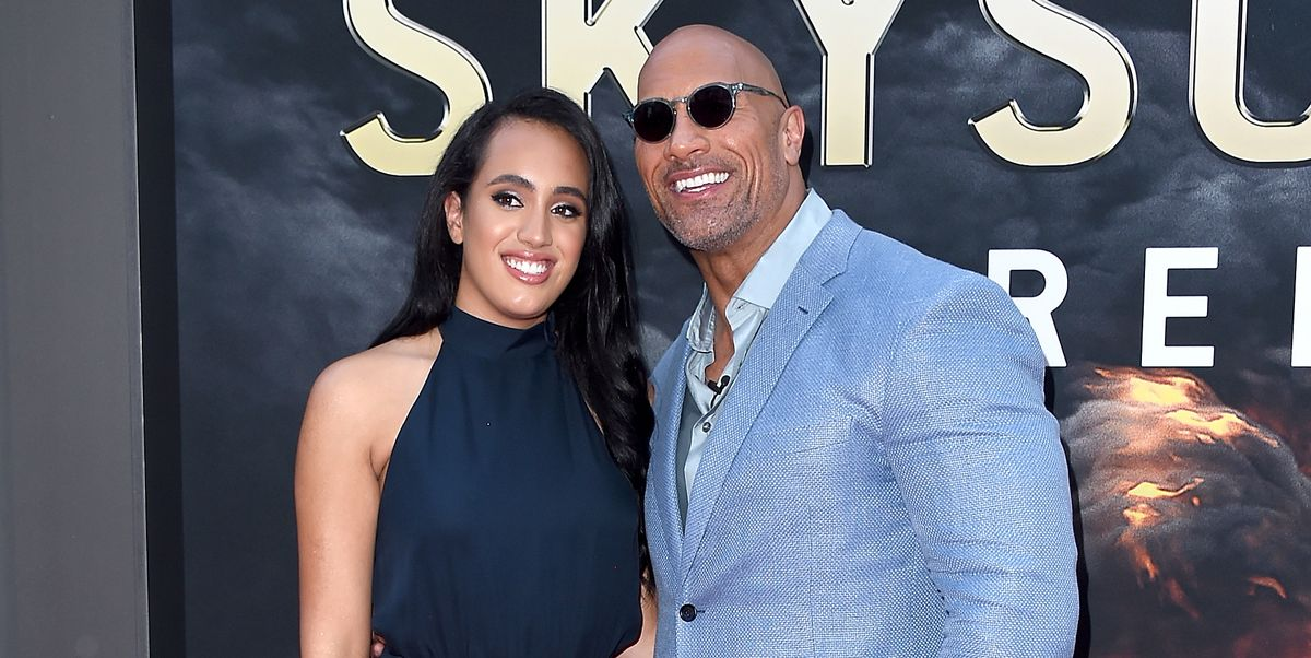 Dwayne Johnson Shares Rare Photo of Oldest Daughter Following Her First WWE Contract