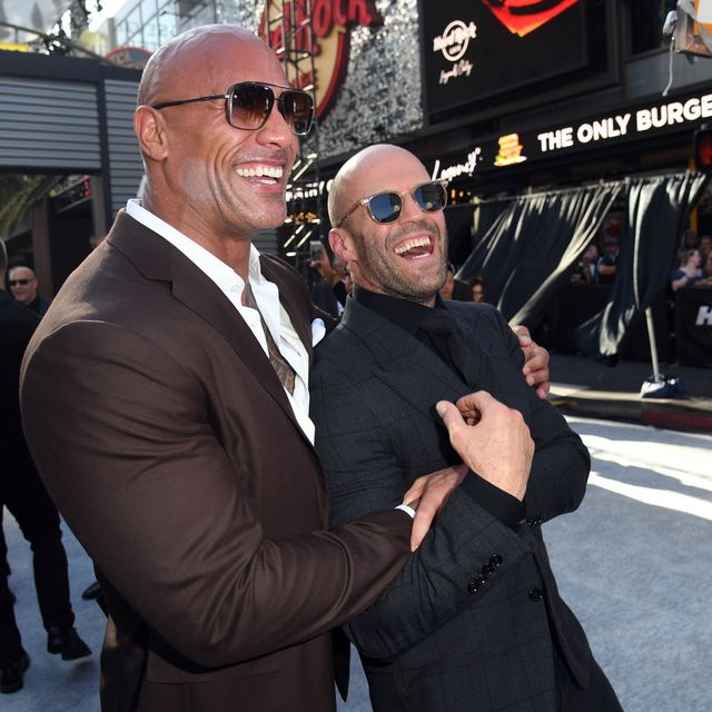 Statha, the rock, fast and furious, estilo, musculados