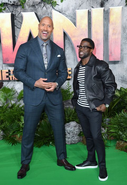 Kevin Hart Says Dwayne Johnson Stole The Rock Nickname
