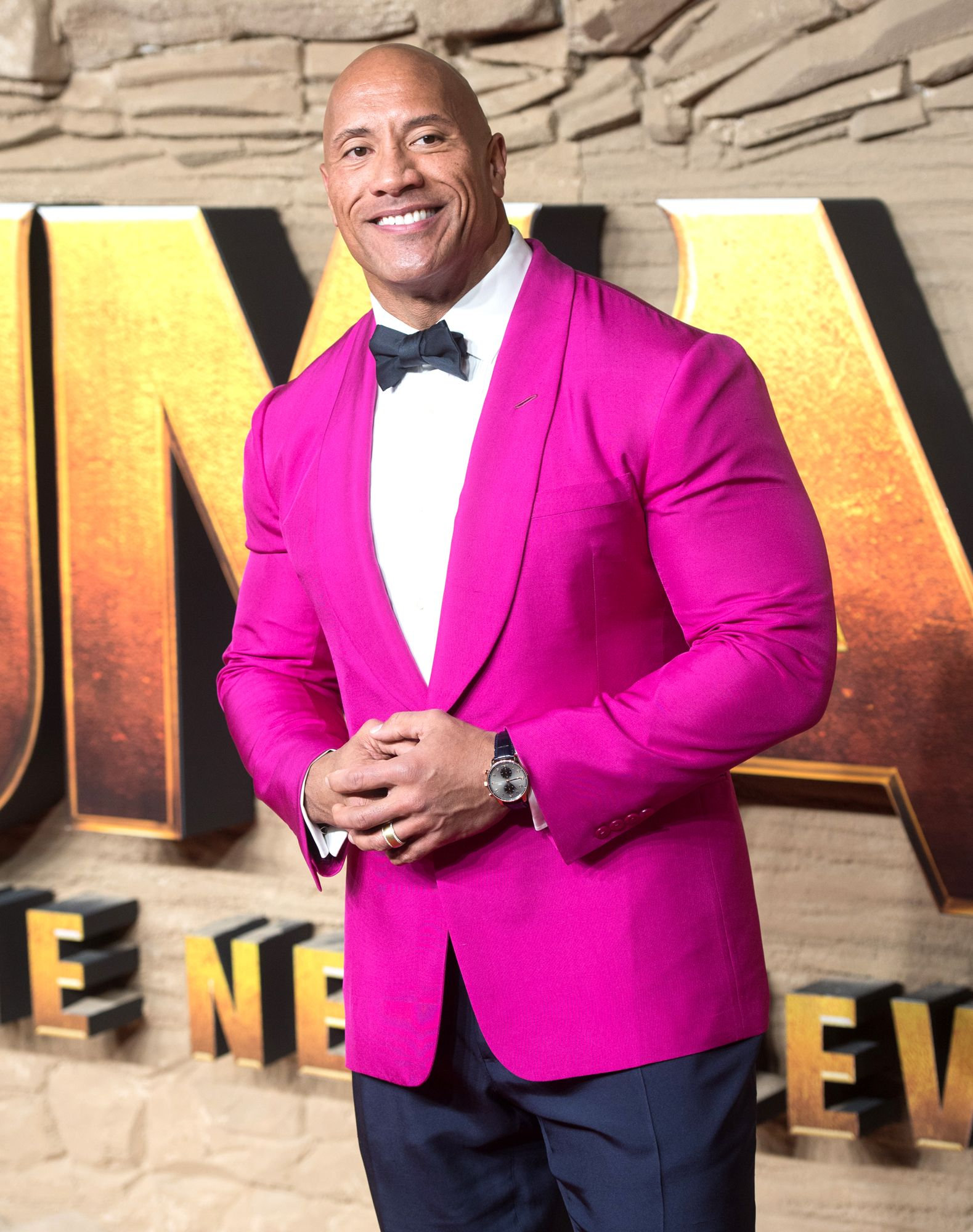Dwayne Johnson doesn't mind if you want to call him The Rock