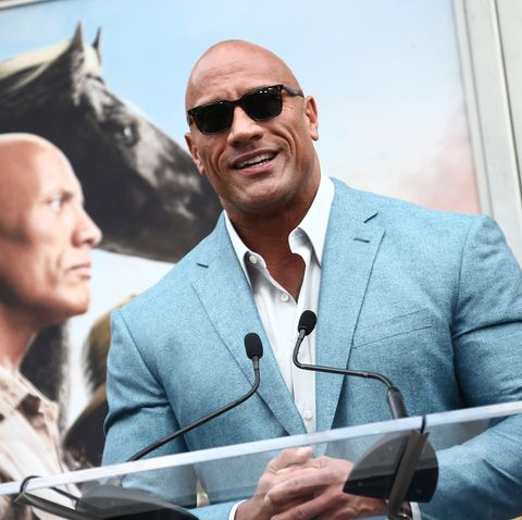Dwayne the rock Johnson, the star is estimated at instagram
