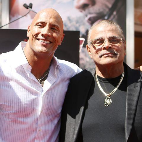 "Dwayne ""The Rock"" Johnson Hand/Footprint Ceremony"