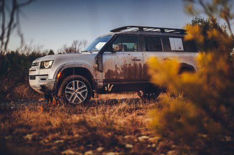 2021 land rover defender off road test