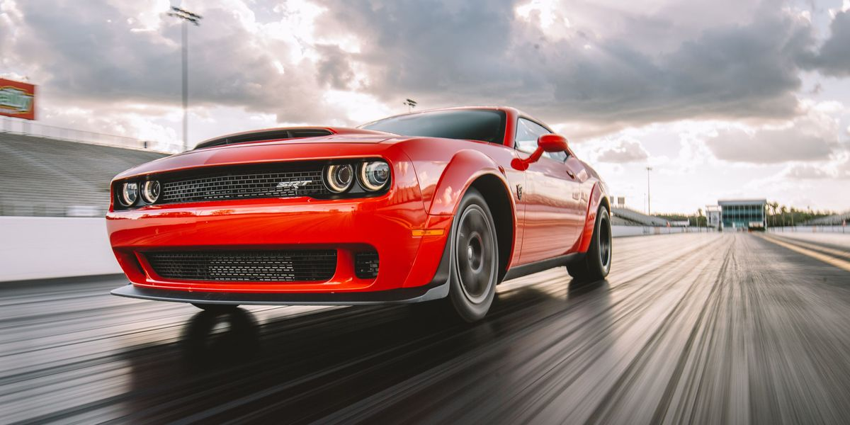 Watch a Dodge Demon Hit 203 MPH In 60 Seconds