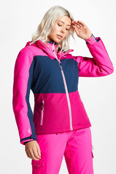 women's ski wear -  Urgency Ski Jacket Fuchsia White