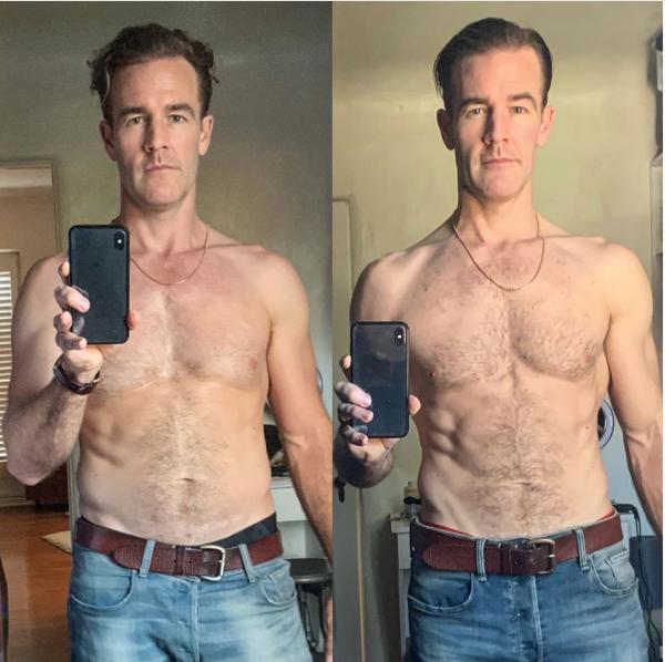 'DWTS' Star James Van Der Beek Shows Off Transformed Body On Instagram
