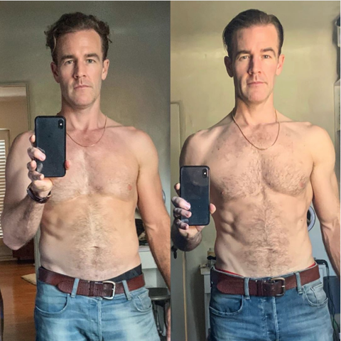 dwts-james-van-der-beek-weight-loss-pictures