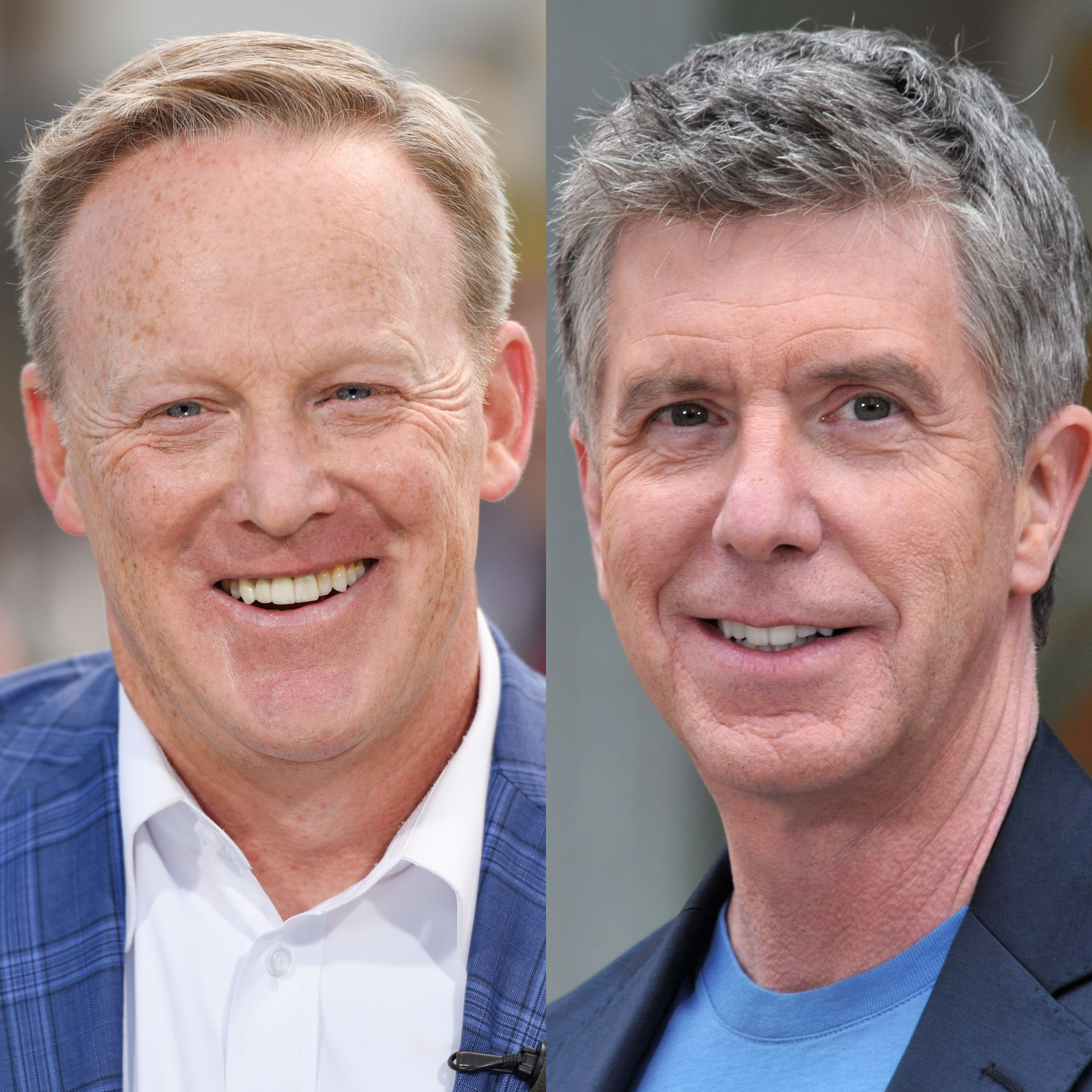 Dancing with the Stars Host Tom Bergeron Reacts to Sean Spicer's Casting