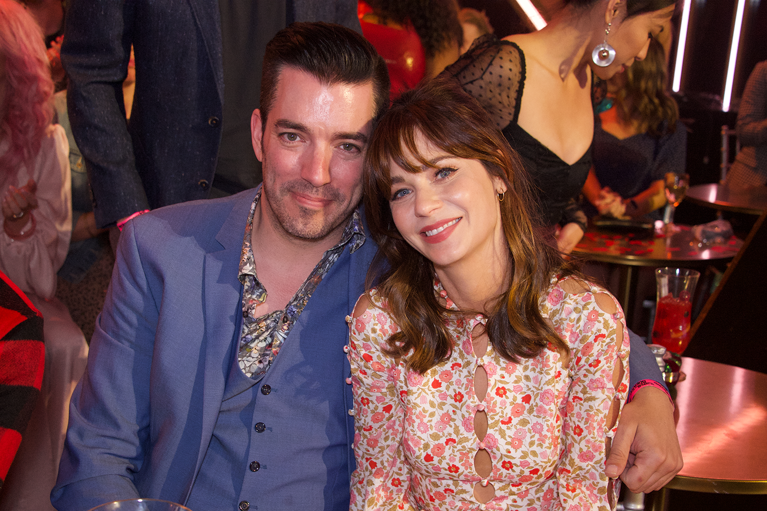 Zooey Deschanel and Property Brothers Jonathan Scott Went on a DWTS Date